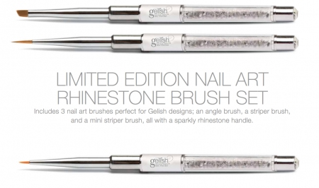 Gelish gel professional nail art brushes 3 piece kit portz profnailartbrushes3pckit1495 prinsesfo Choice Image