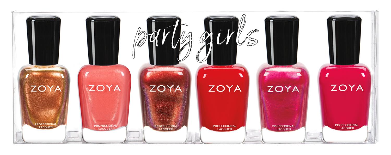 Zoya Sampler – Party Girls A – Portz Cosmetic Supply